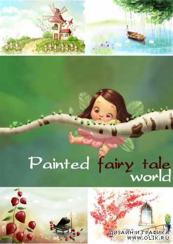 Painted fairy-tale world