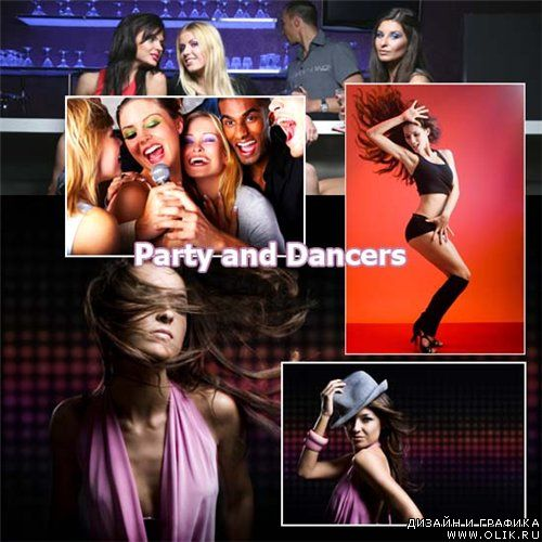 Stock Photo - Party and dancers
