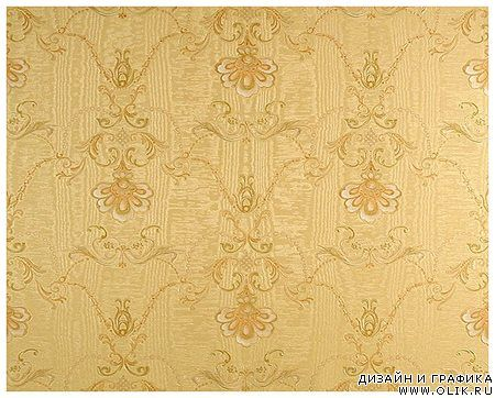 Golden damask backgrounds