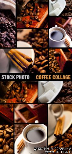 Stock Photo - Coffee Collage