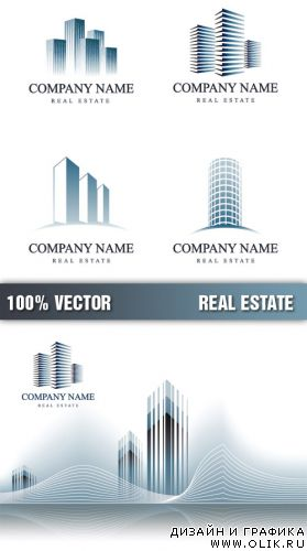 Stock Vector - Real Estate