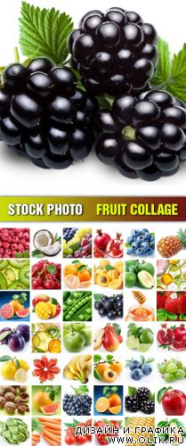 Stock Photo - Fruit Collage