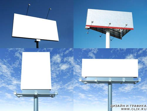 Stock Photo - BillBoards | Афиши