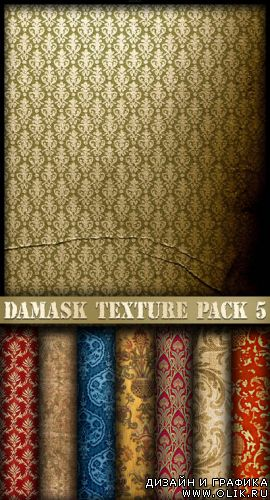 Damask texture pack 5