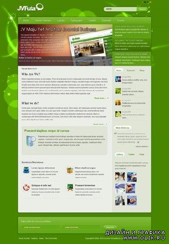 JV Futa - Business Joomla Template