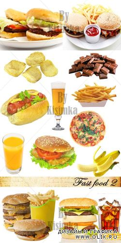 Stock Photo: Fast food 2