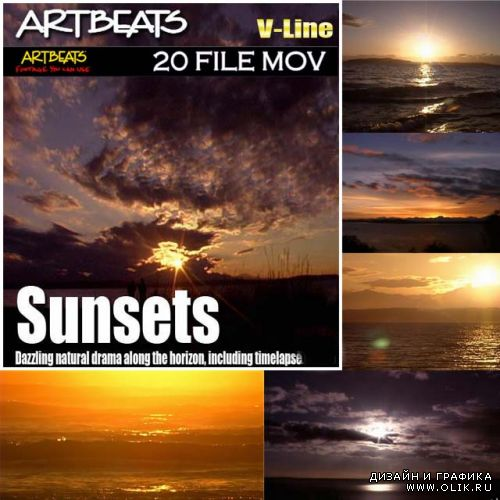 Footage Sunsets (V-Line) of Arbeats