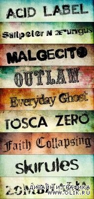 45 Awesome Free Grunge Fonts