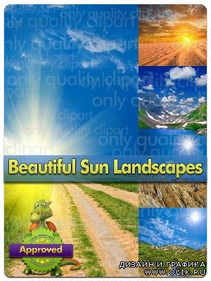 Beautiful Sun Landscapes - Stock Photo