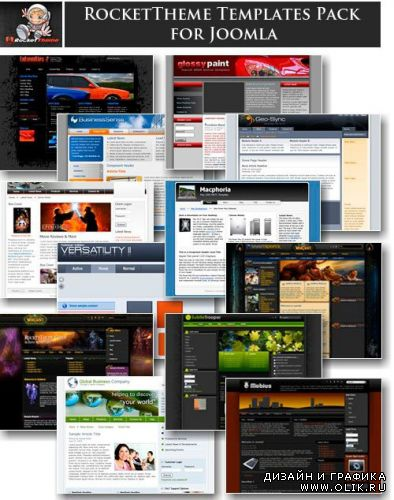 templates for Joomla collection