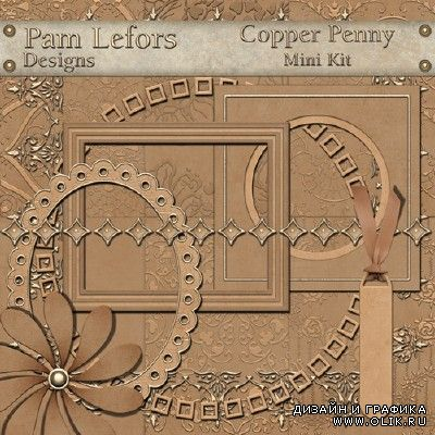 Scrap-kit - Copper penny