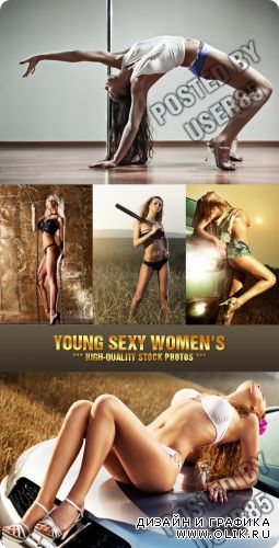 Stock Photo - Young Sexy Women's