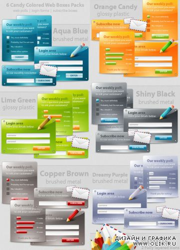 6 Web Polls and Forms Deliciously - GraphicRiver