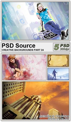PSD Source - Creative backgrounds 24