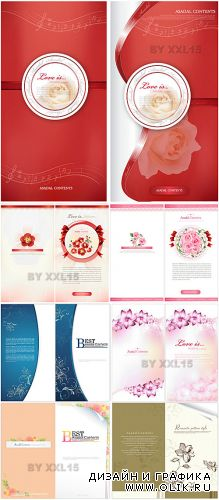 Romantic backgrounds and cards 2