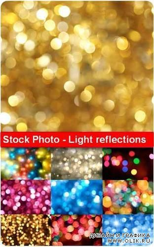 Stock Photo - Light reflections (Световые блики)