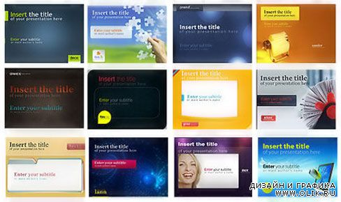 500 Awesome Power Point Templates