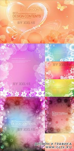 Flower backgrounds 10