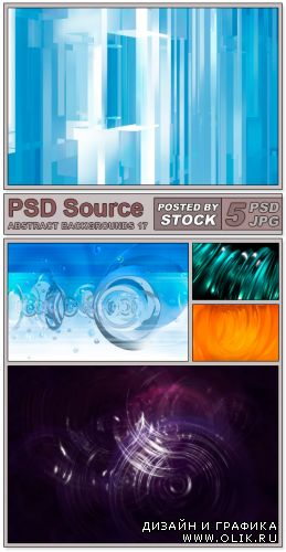 Layered PSD Files - Abstract backgrounds 17