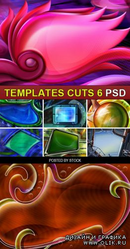 PSD Source - Templates cuts 6