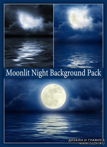 Moonlit Night Background Pack