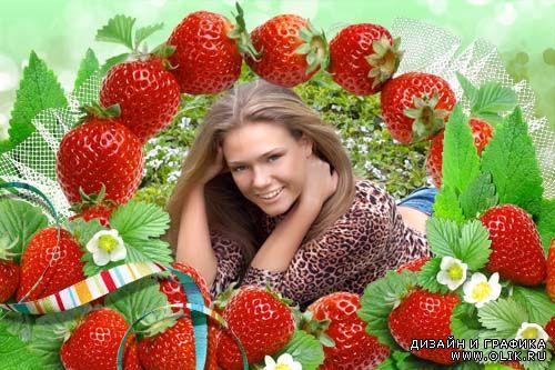 Открытка с днем рождения женщине 45 лет с ягодками