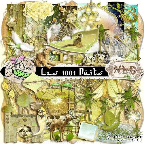Scrap kit  1001 Nights