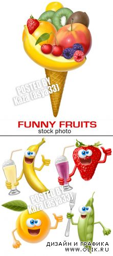 Funny fruit & vegetables