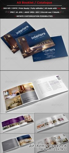 A5 Booklet / Catalogue - GraphicRiver