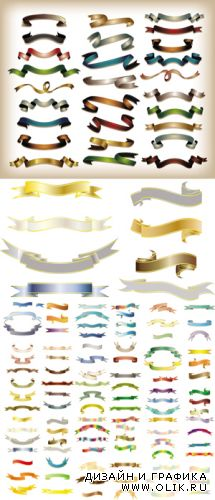 Banners & Ribbons Vector Collection