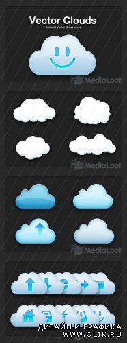 MediaLoot  - Vector Cloud Icons