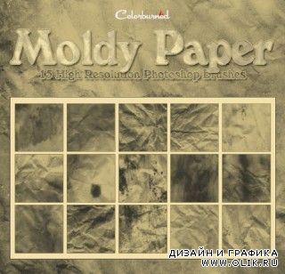 Moldy Paper : 15 HQ PS Brushes