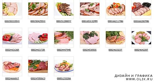 Stock Photos -Meat Plate3