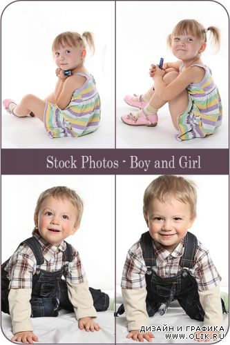 Stock Photos - Boy and Girl