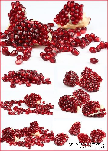 Pomegranate seeds / Зёрна граната