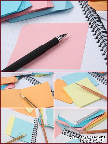 Stock Photos -  Office Supplies