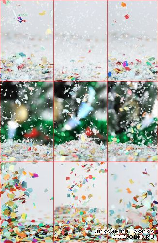 Stock Photos - Confetti backgrounds