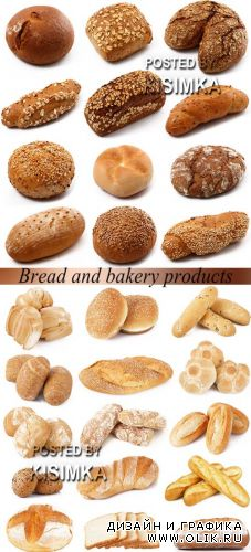 Stock Photo: Bread and bakery products