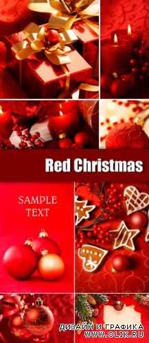 Stock Photo - Red Christmas