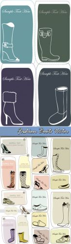 Fashion Boots Vector