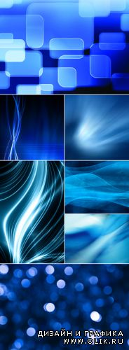 Stock Photo - Blue Abstract Backgrounds