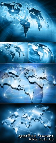 Stock Photo - Global Internet Concept