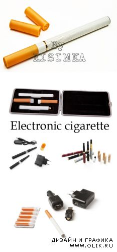 Stock Photo: Electronic cigarette