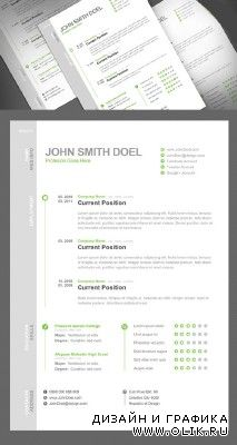 Resume PSD Template for PHSP