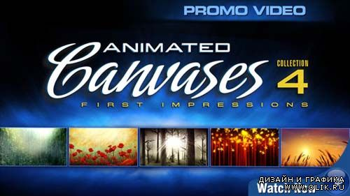 Digital Juice Animated Canvases Collection 04: First Impressions (2DVDs)