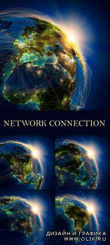 Stock Photo - Global Network Connection