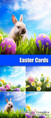 Stock Photo - Easter Cards