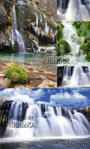 Stock Photo: Waterfall 12