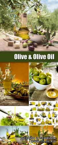 Stock Photo - Olive and Olive Oil 2