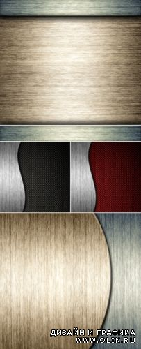 Stock Photo - Brushed Metal Backgrounds 2